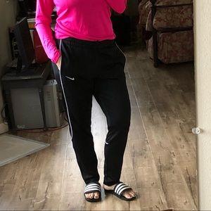 4705008a96ec Nike Pants - Women s Nike Large Black soccer warm up pants Lg